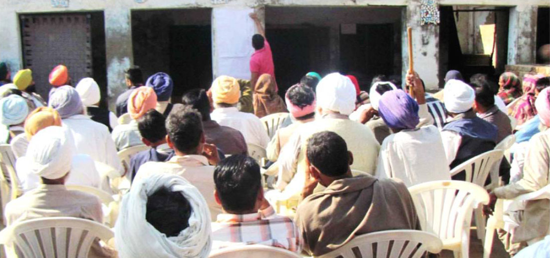 Photograph of PRA (Participatory Rural Appraisal)